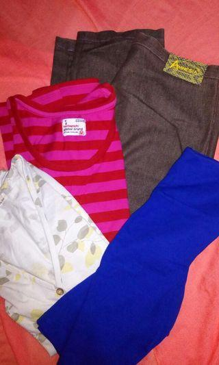 TAKE ALL Tops Free Size and Slacks Size 24
