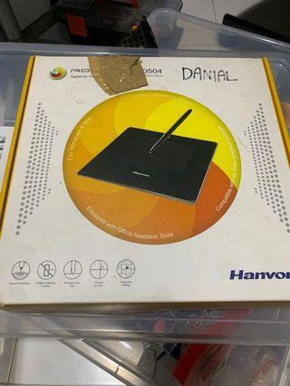 Hanvon Rollick 0504 Wacom Graphic Tablet