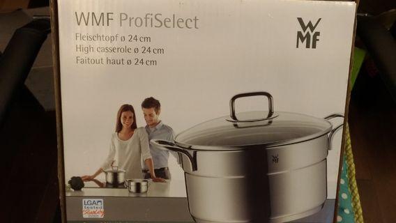 🚚 WMF 不鏽鋼18/10,24cm 湯鍋
