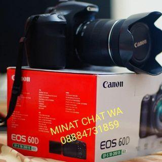 Kamera canon eos 60d kit