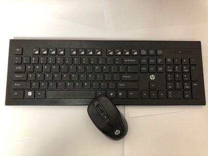 HP 無線 keyboard 套裝