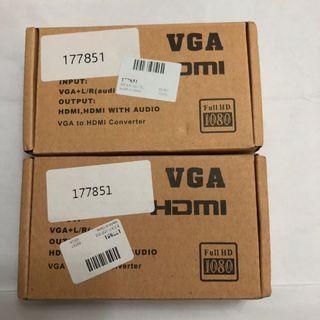 VGA to HDMI Adaptor