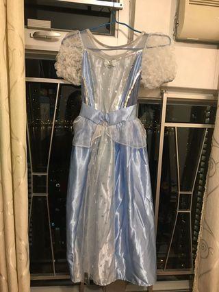 二手Cinderella公主裙 (包藍色頭箍)