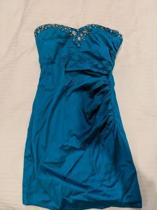 BNWT Asos Embellished Tube Dress