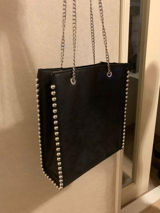 Zara chain bag