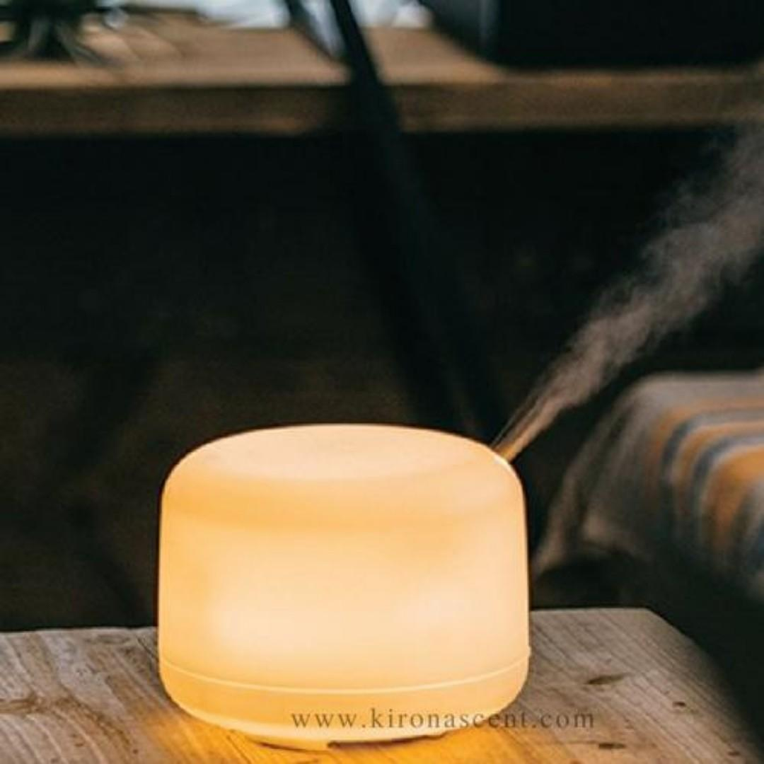 Aroma Diffuser / Ultrasonic Humidifier / Essential Oil / Aromatherapy / Muji Style 500ml / Free Delivery