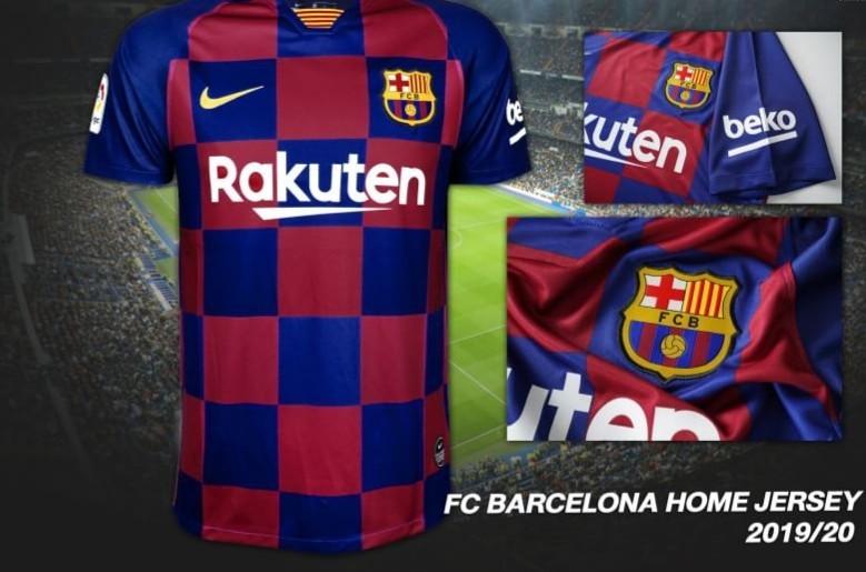 buy online 8e1ff 5847e Barcelona Home Jersey 2019/20