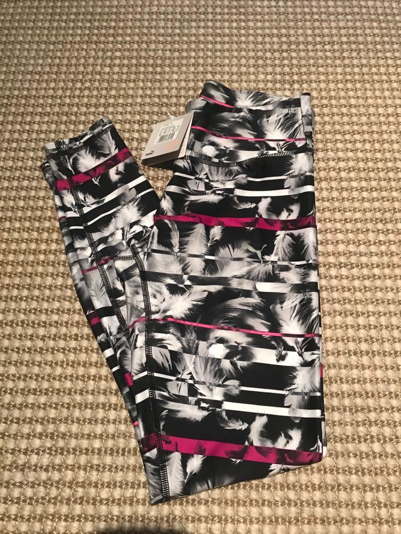 Brand new with tags Puma women's full length tights xs