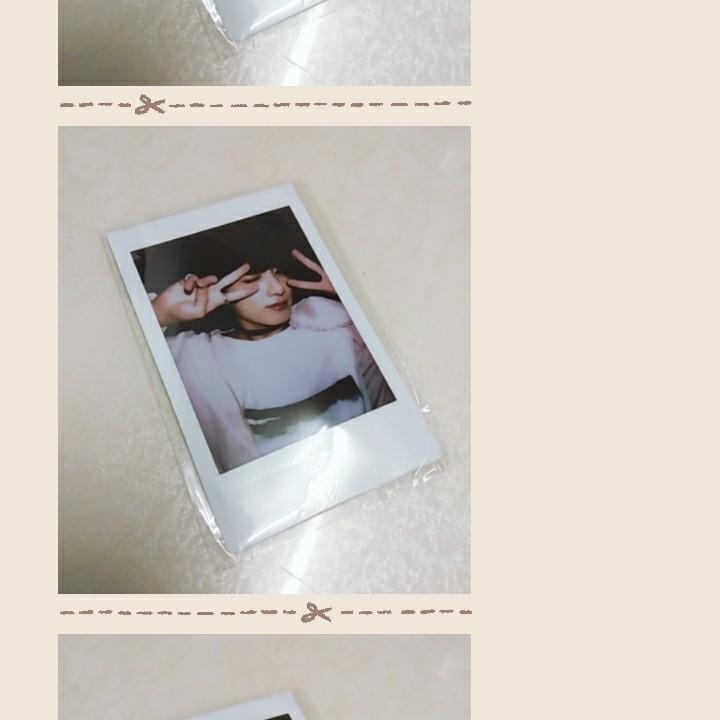 bts jeon jungkook 's duplicate fujifilms / polaroids