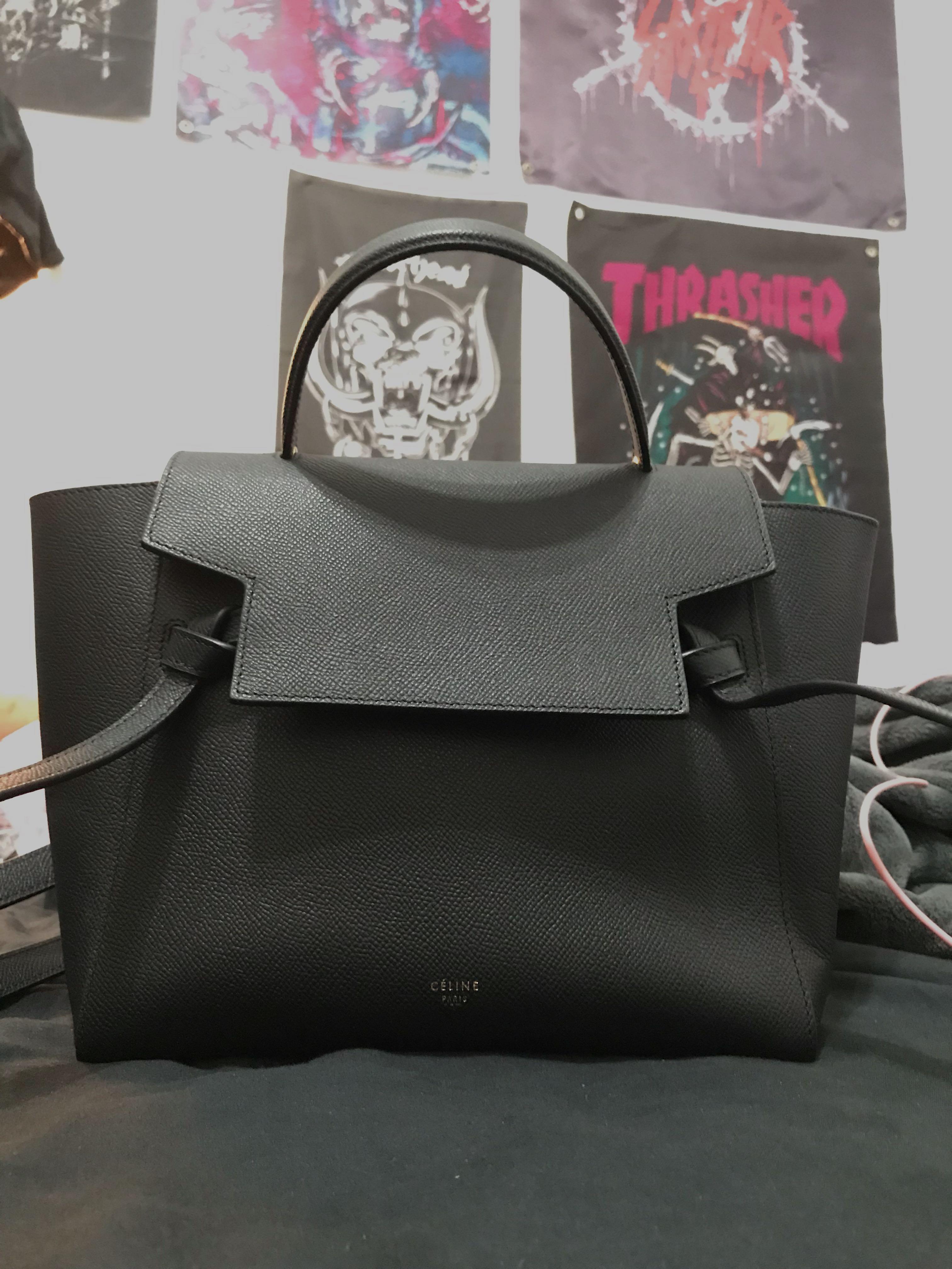 Celine Micro Belt Bag Luxury Bags Wallets Handbags On Carousell