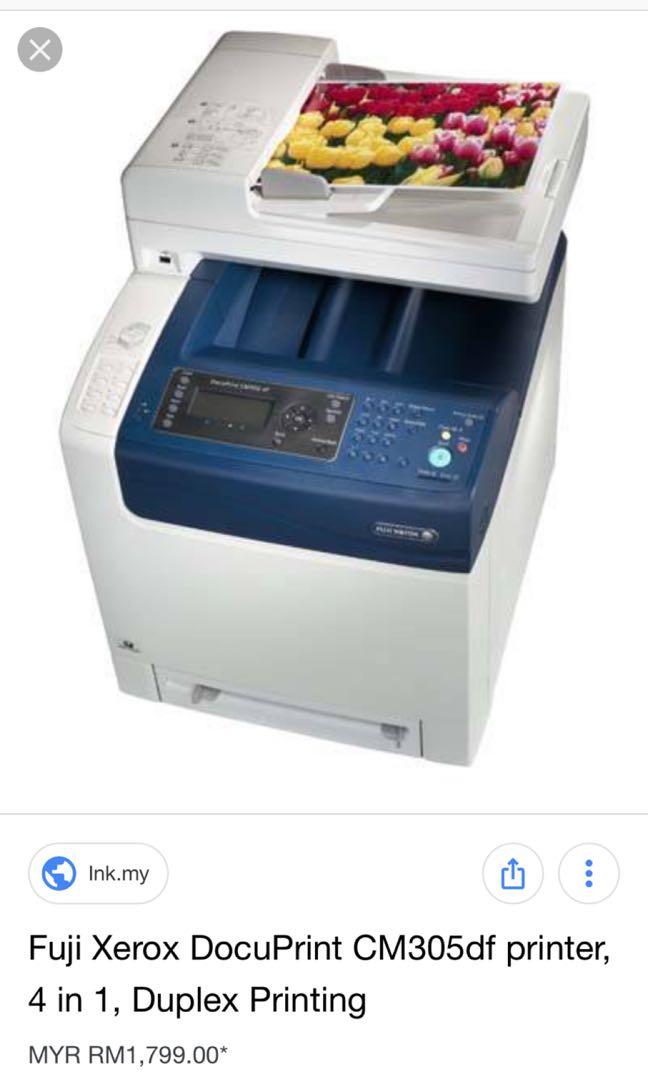 Fuji Xerox Printer CM305df