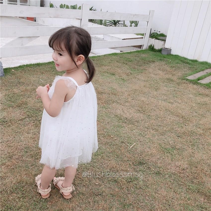 ⭐INSTOCK⭐ Sweetheart Ruffle Sleeve Tutu Dress