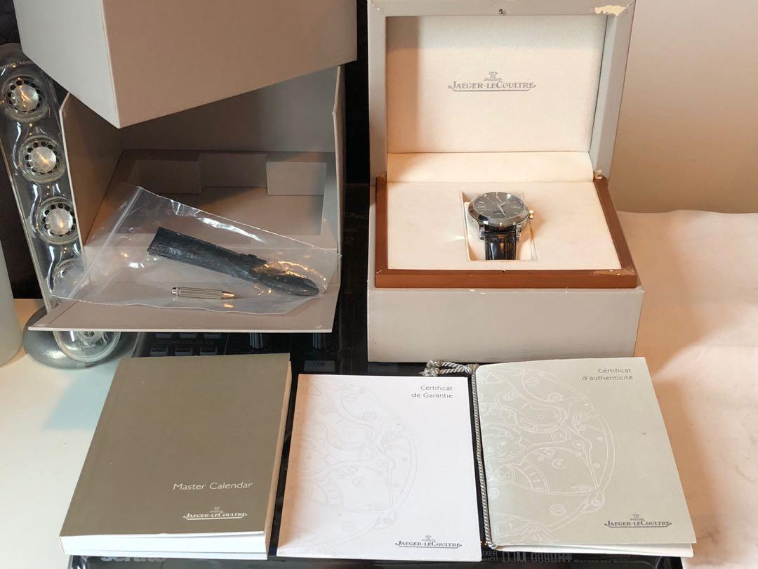Jaeger-LeCoultre Master Calendar Boutique Exclusive Special Edition Ruthenium