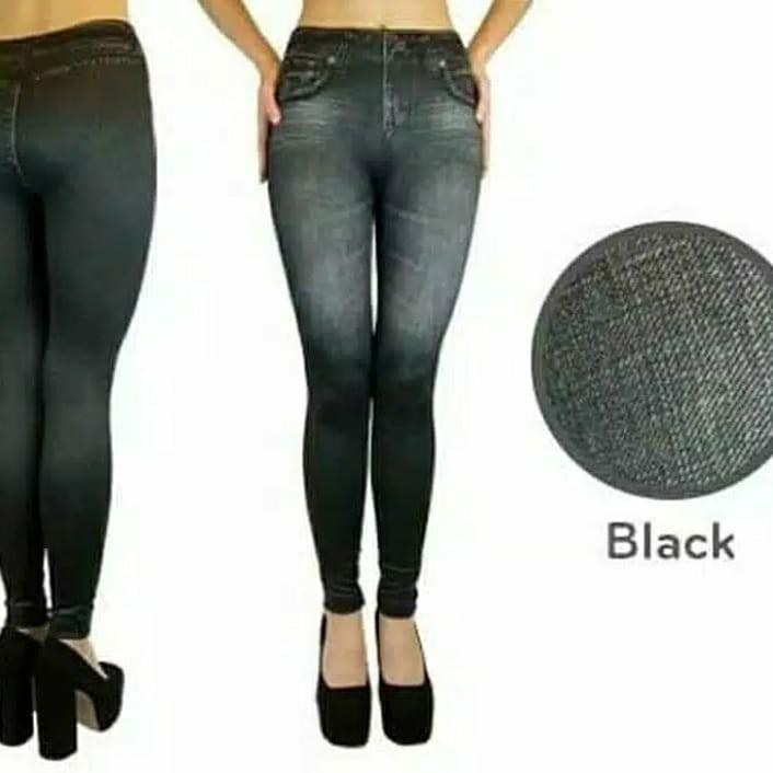 Legging Levis Hitam Fesyen Wanita Pakaian Wanita Bawahan Di Carousell