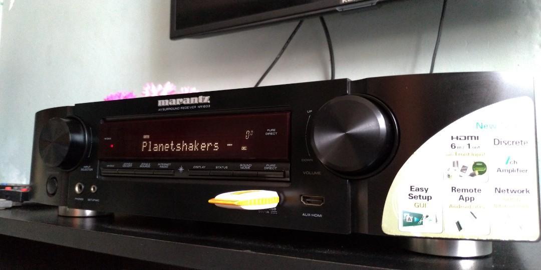 Marantz Receiver Amplifier NOT Speaker Surround Subwoofer