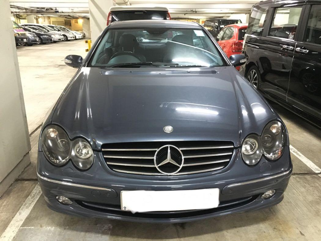 MERCEDES-BENZ CLK240 2003
