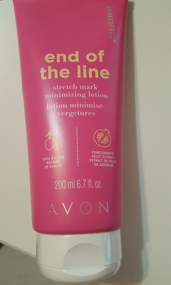 New! End of the Line Stretch Mark Minimizing Lotion