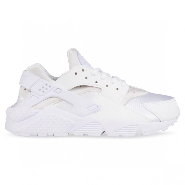 Nike Huarache Triple White - women's