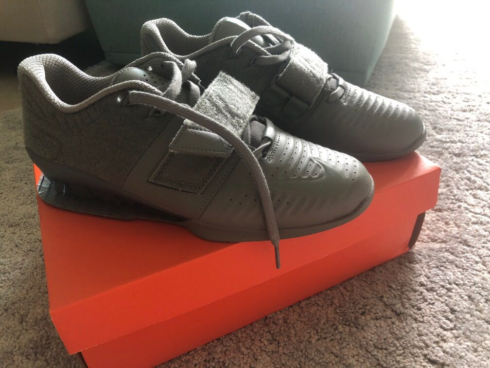 boca Grapa Deflector  Nike Romaleos 3XD Patch - Men's Weightlifting Shoes, Men's Fashion,  Footwear, Others on Carousell