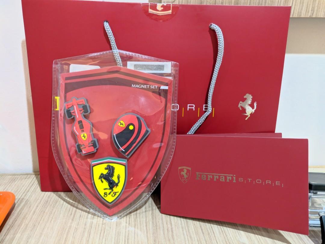 Original Ferrari Magnet Set ( 3 Pcs)