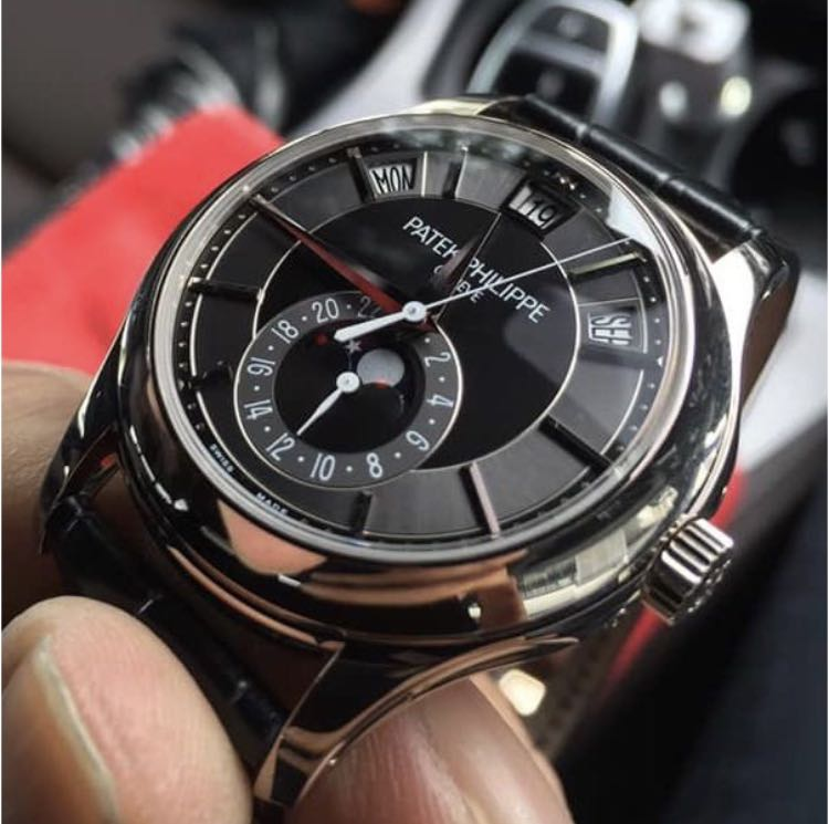 Patek Philippe 5205g Complication Annual Calendar 18k Solid White Gold Edition With Tang Buckle Limited With No More New Production Pls Read Post