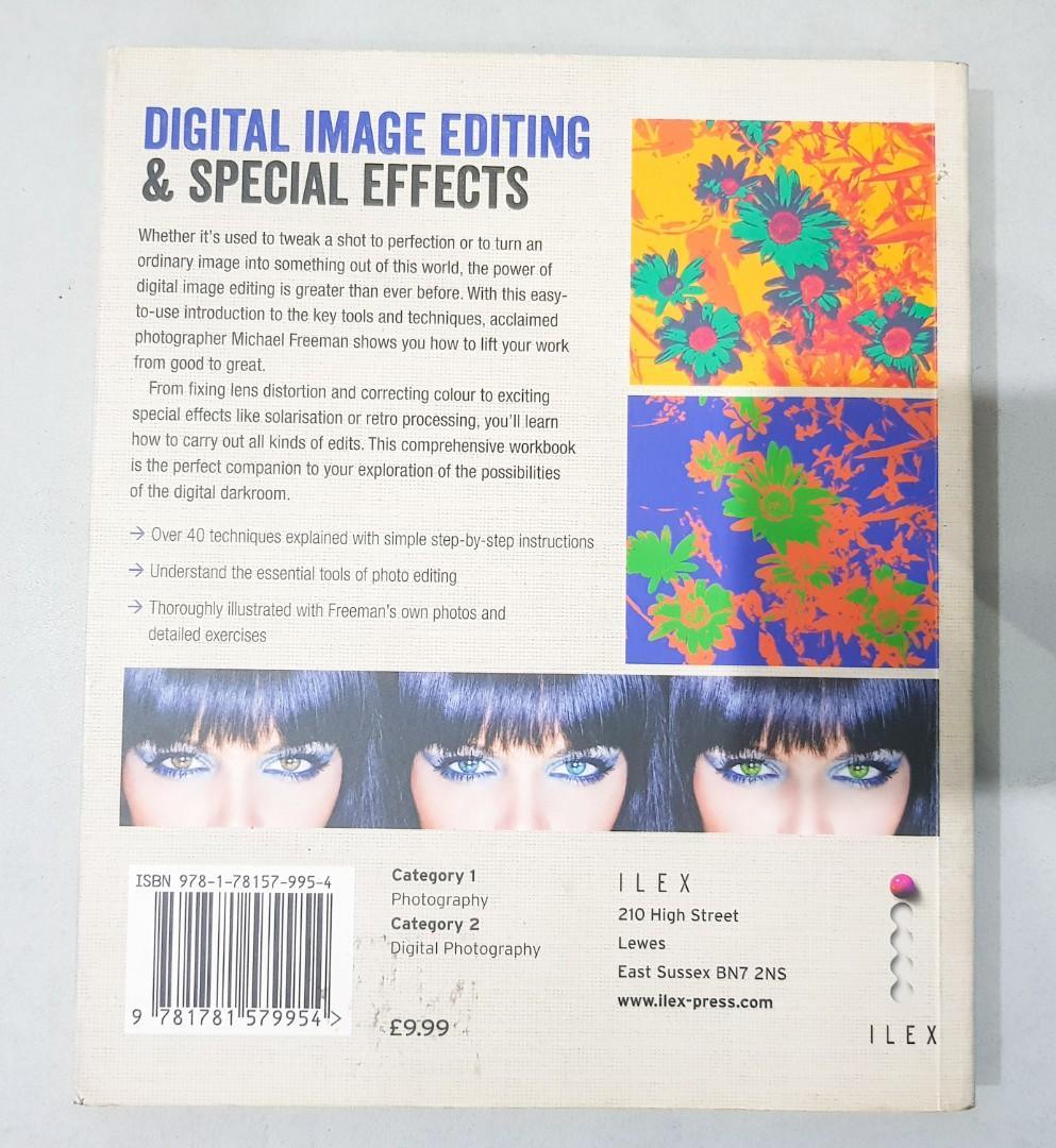 Photo editing book (Digital Image Editing & Special Effects) - by Micheal Freeman