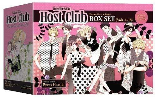 (pre order|free postage) ouran high school host club boxset 1-18 complete komik manga