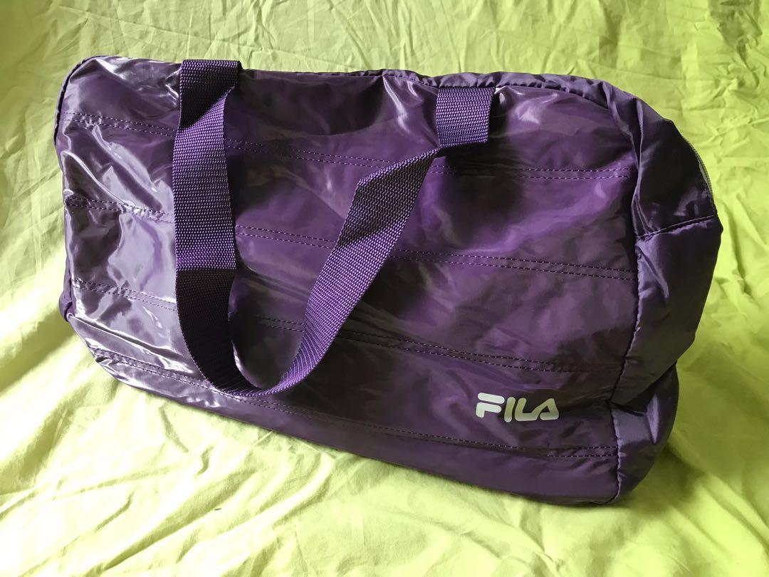 Purple Sport Bag