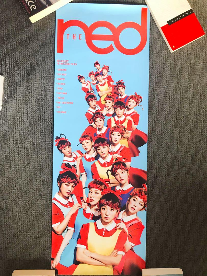 Red Velvet / Wanna One / Super Junior Official Posters