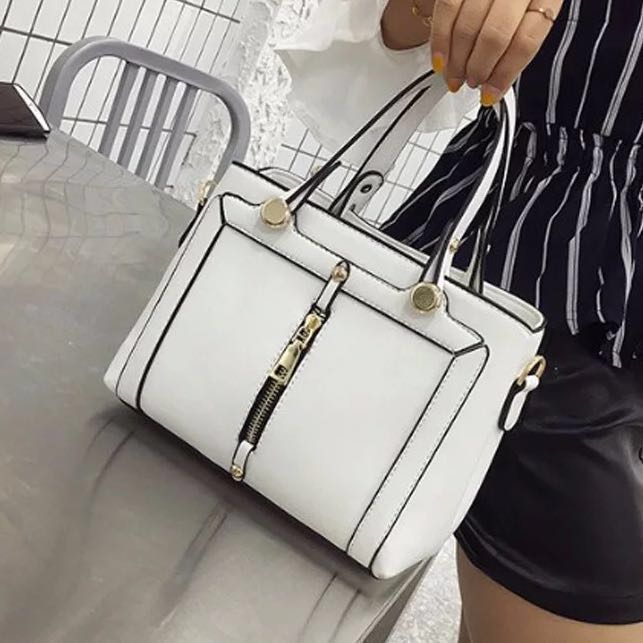 ce83f459ce97 Sling Bag / Handbag Ulzzang Leather Tote Bucket Hand Casual Bag Everyday  Office Work Plain Simple Bag For women woman ladies girls small medium ...