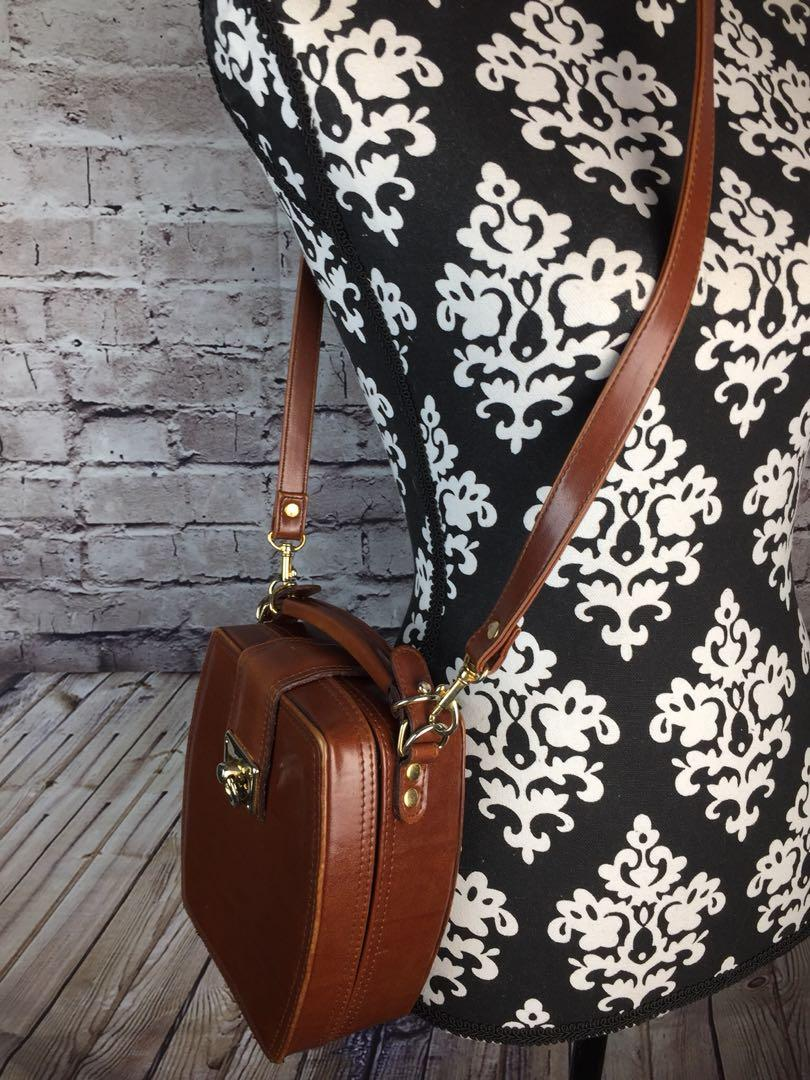 Small Classic Genuine Leather Box Cube Shoulder Crossbody Bags