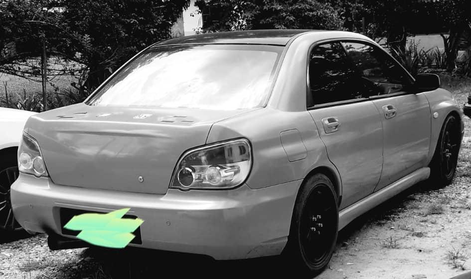 Subaru impreza wrx ver8 turbo sg murah