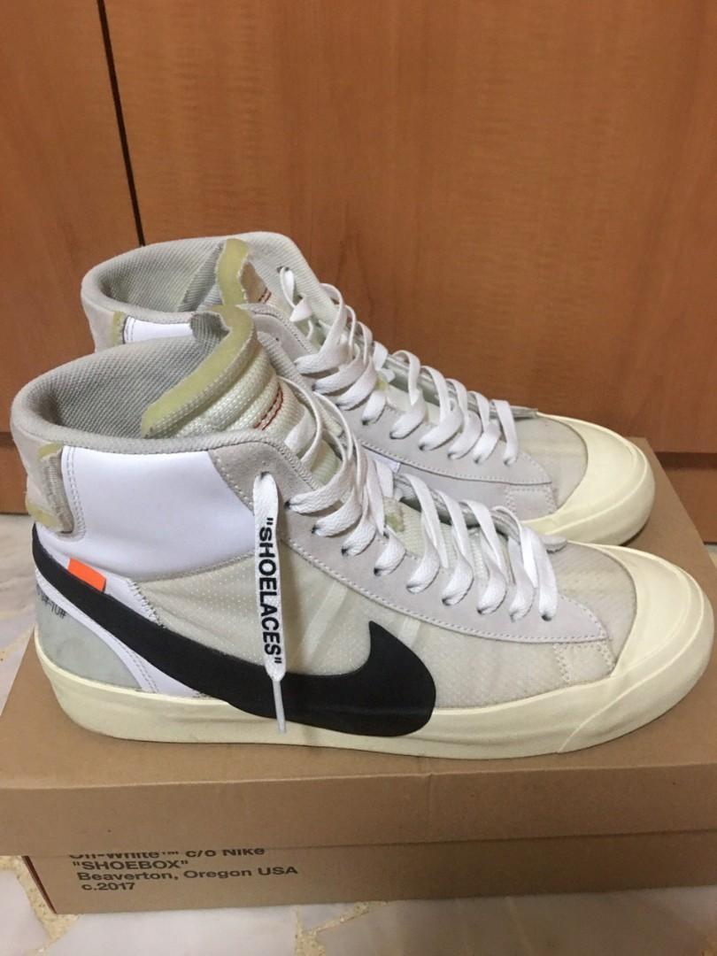 The 10: Off-White Nike Blazer Mid OG