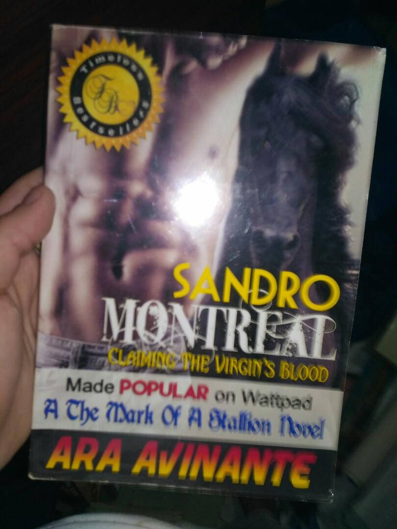 The Mark of a Stallion: Sandro Monteral Claiming the Virgin's Blood by Ara Avinante
