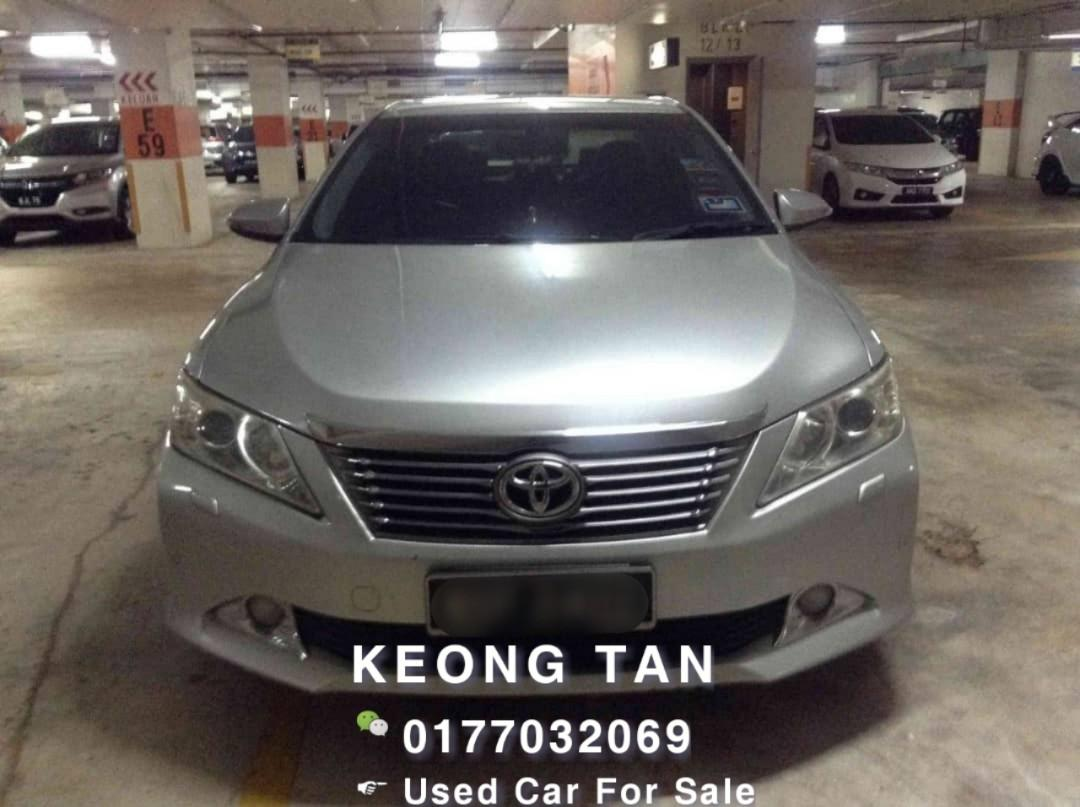 TOYOTA CAMRY 2.0AT G SPEC 2012TH  Rm72,500 Cash🎉OfferPrice‼LowestPrice In Town🎉Call📲 Keong For More 🤗