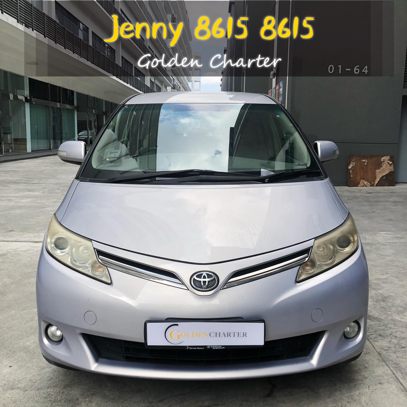 Toyota Previa MPV 7seater PHV  For Rent Grab Rental tada Ryde Gojek Or Personal Use Low price and Cheap