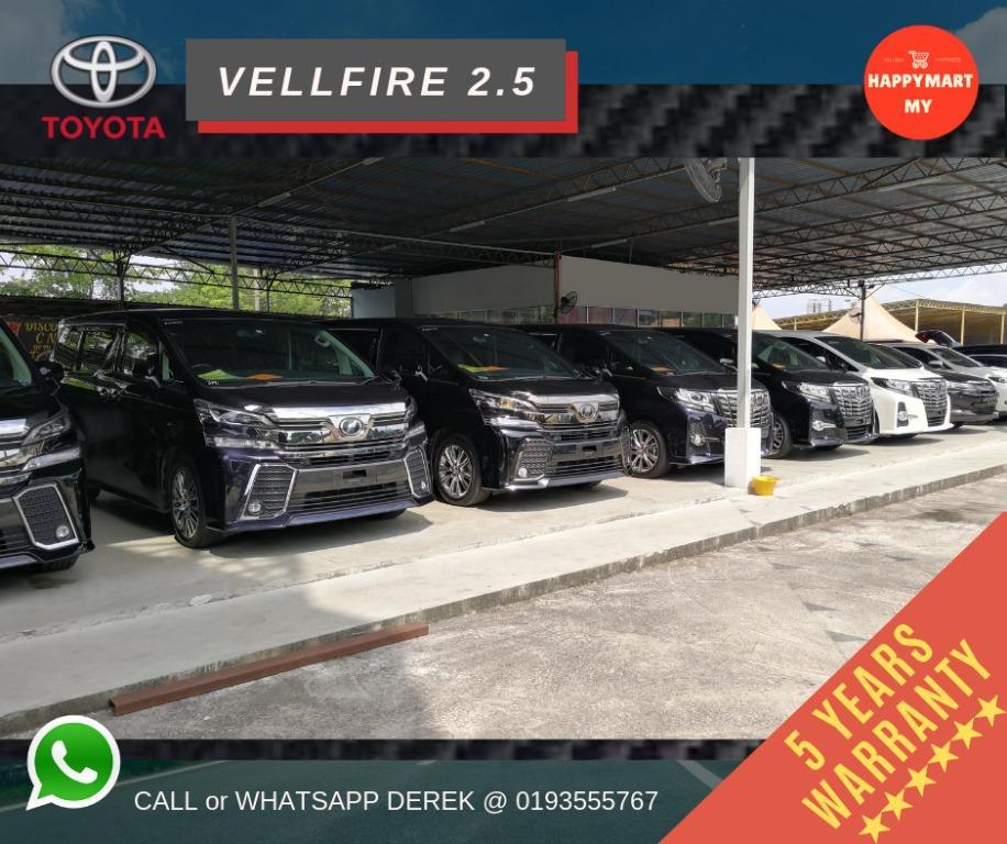 Toyota Vellfire & Alphard 2.5 (Unregistered Recond)