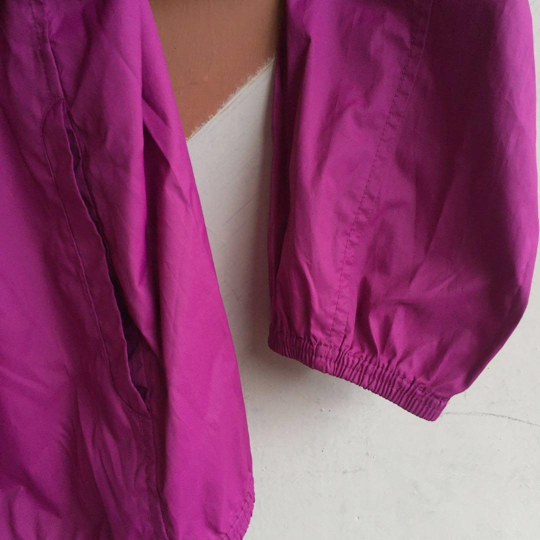 Uniqlo windbreaker purple jacket