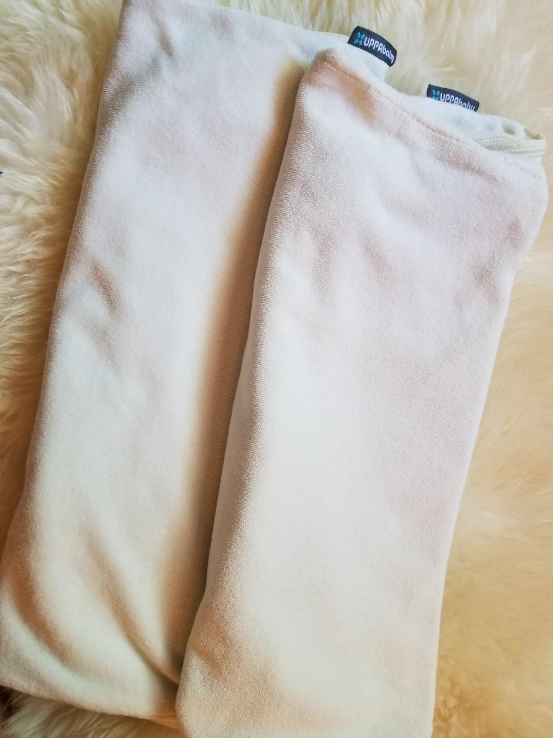Uppababy bassinet mattress covers. New. Official. Purchased from West coast kids for $60 for both. Take each for $20 or both for $30 if picked up at Gerrard Main or 20 Bay. $32 for Yorkville pickup.