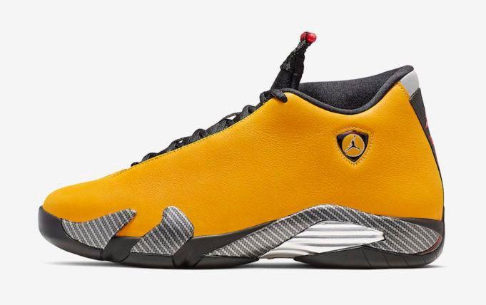 US 9.5] Air Jordan 14 Ferrari Yellow