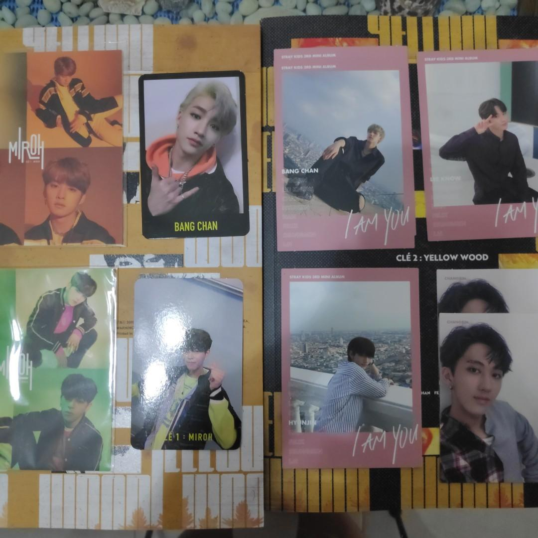 wts/wtt clearance stray kids photocard (updated