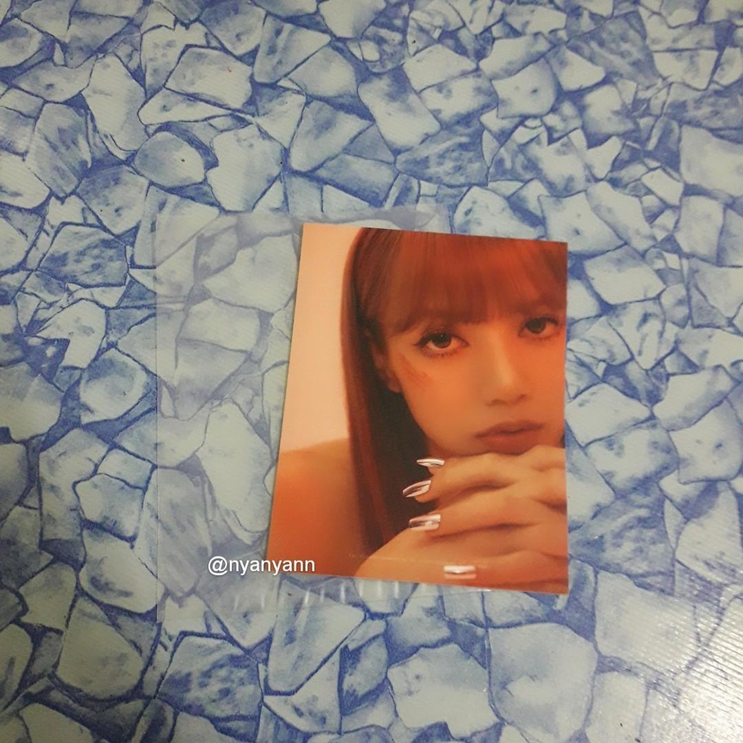 [WTS Only] BLACKPINK Kill This Love (random) Photo Cards-Lisa
