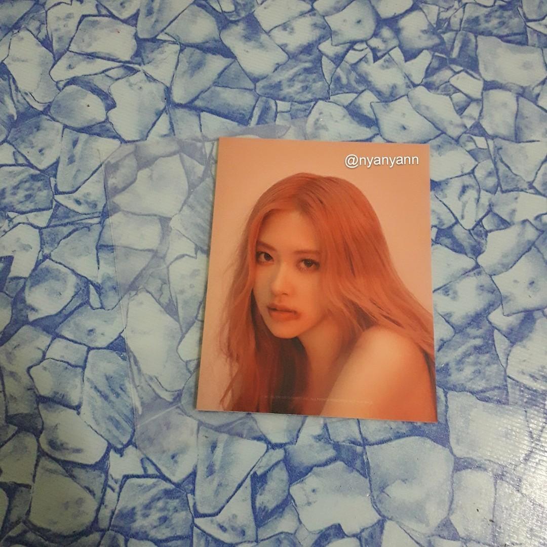 [WTS Only] BLACKPINK Kill This Love (random) Photo Cards-Rosé