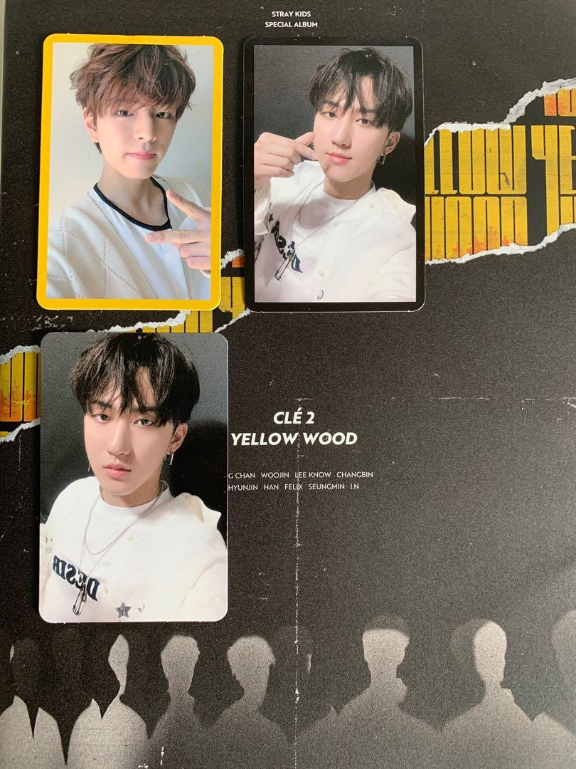 WTT Cle 2 Yellow Wood Limited Ver Seungmin Changbin pc to any hyunjin pc