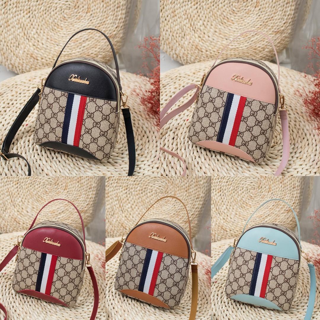 XILIU 3 Ways Gucci Sling bag Tas Slempang Ransel Backpack Punggung Import Pu wanita woman Cewe Cewek Fashion