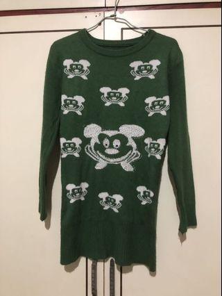 綠色米奇毛衣🐭