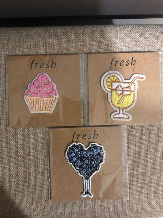 Brand new. Iron on Patch by Fresh beauty