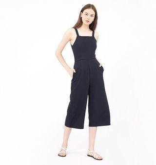 RUNWAYBANDITS RWB TESS JUMPSUIT IN NAVY BLUE
