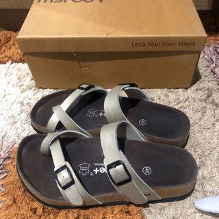 My feet sandals