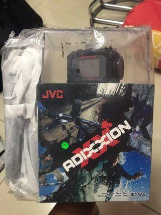 JVC GC-XA2 ADIXXION Action Camera (Free JVC Case + 8GB Memory Card)